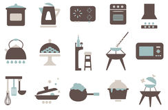 Kitchenware icon 01 Royalty Free Stock Images