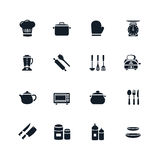 Kitchenware Icon. On White Background Vector Illustration Stock Photo