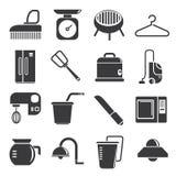 Kitchenware icons Stock Photos