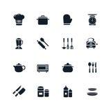 Kitchenware ikona Zdjęcie Stock