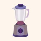 Kitchenware juicer theme elements vector,eps. Vector illustration file Stock Image