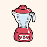 Kitchenware juicer theme elements vector,eps. Vector illustration file Royalty Free Stock Images