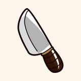 Kitchenware knife theme elements vector,eps Royalty Free Stock Photo