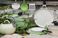 Kitchenware Outdoors Stock Images
