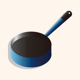 Kitchenware pan theme elements vector,eps. Vector illustration file Royalty Free Stock Photos