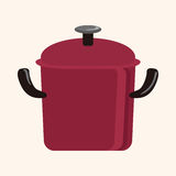 Kitchenware pot theme elements vector,eps Stock Photography