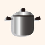 Kitchenware rice cooker theme elements vector,eps. Vector illustration file Stock Photos