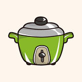 Kitchenware rice cooker theme elements vector,eps Stock Photos