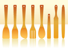 Kitchenware set Royalty Free Stock Image
