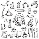 Kitchenware set Royalty Free Stock Photo