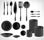 Kitchenware set Royalty Free Stock Photography