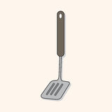 Kitchenware spatula theme elements vector,eps Stock Image
