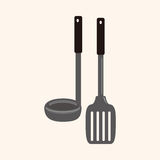 Kitchenware spatula theme elements vector,eps Stock Images