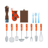 Kitchenware vector icons. Royalty Free Stock Image