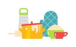 Kitchenware  vector illustration. Stock Image