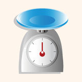 Kitchenware weight scale theme elements vector,eps Stock Photography