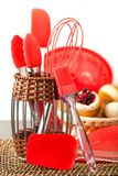 kitchenwaresilikoner Arkivbild