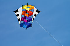 Kite. A kite on the blue sky Royalty Free Stock Images