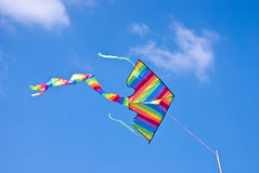 Kite. Colorful of kite is fly on the sky Stock Image