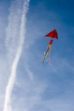 Kite. Sunny summer day. Kite in the sky Stock Photography
