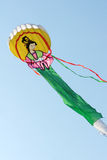 Kite. A kite like Chinese archaic lady with pink chemise and green skirt Royalty Free Stock Images
