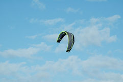 Kite. In the sky royalty free stock photography
