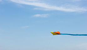 Kite. A Kite play to outdoor Royalty Free Stock Photos