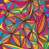 Kite abstract free seamless pattern Royalty Free Stock Images