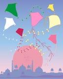Kite abstract Royalty Free Stock Image