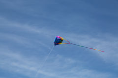 Kite against a blue sky Royalty Free Stock Photos