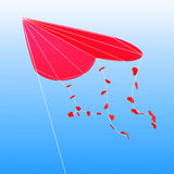 Kite as a heart Stock Photography