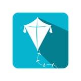 Kite baby toy icon Stock Image