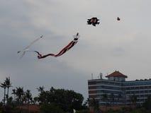 Kite at the Bali Kite Festival Stock Photo