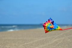 Kite at the beach Royalty Free Stock Image