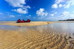 Kite on the beach Royalty Free Stock Image