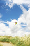 Kite in the beah Stock Photo