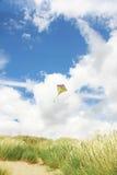 Kite in the beah Stock Photo