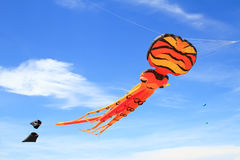 Kite  on  blue sky Stock Images
