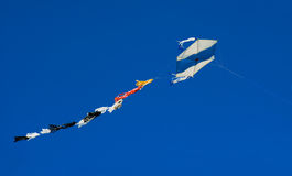 Kite in blue sky Stock Photography
