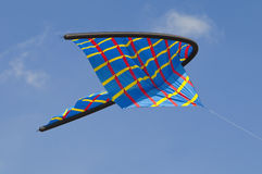Kite in blue sky Stock Image