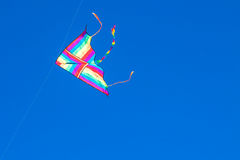 Kite in the blue sky Stock Photos