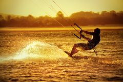 Free Kite Boarder Stock Photography - 2885952