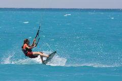 Kite boarder Stock Photo
