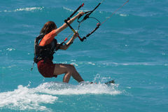 Kite boarder royalty free stock image