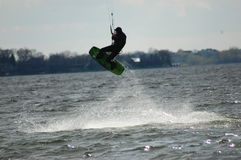 Kite Boarder Close up Royalty Free Stock Image