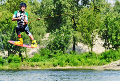 Kite Boarding Royalty Free Stock Image