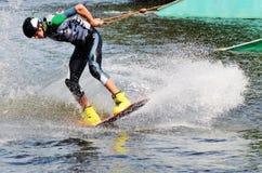 Kite Boarding Stock Images