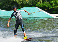 Kite Boarding Stock Photography