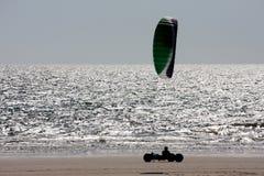 Kite buggy Royalty Free Stock Photos