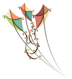 Kite and childhood design. Royalty Free Stock Photos